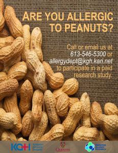 Peanut Poster