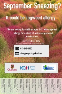 Ragweed pediatric poster updated