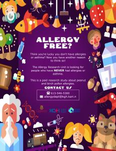 allergyfreeposter